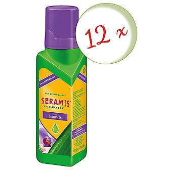 Sparset: 12 x SERAMIS® vital food for orchids, 200 ml