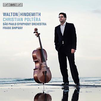 Walton / Hindemtih - Cello nackdelar [SACD] USA import