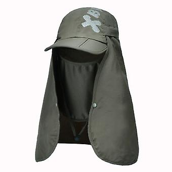Foldable Quick Drying Waterproof Boonie Hat And Uv Protection Baseball Cap Face