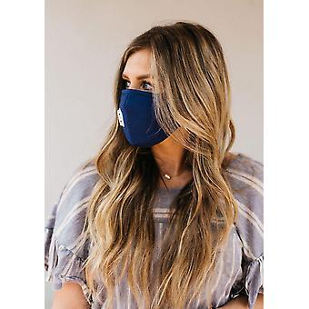 Blue Breathable Vented Mask