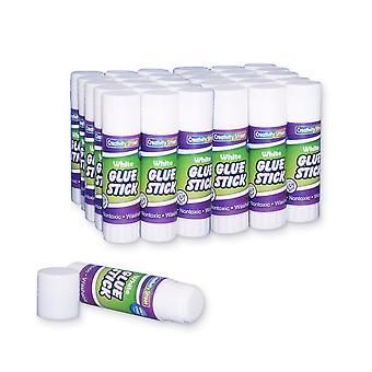 Glue Sticks, Clear, 0.28 Oz., 30 Count