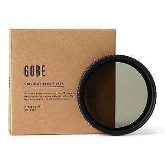 Gobe 55mm nd2-32 (1-5 stop) variable nd lens filter (3peak)