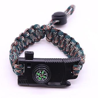 Men Women Braided Paracord Multi-function, Camping, Rescue, Emergency Rope