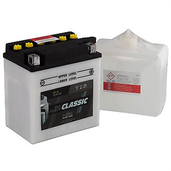 intAct CB10L-B2 Classic Bike-Power Battery With Acid Pack