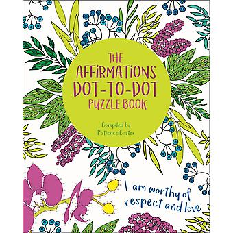 The Affirmations DottoDot Puzzle Book by David Woodroffe