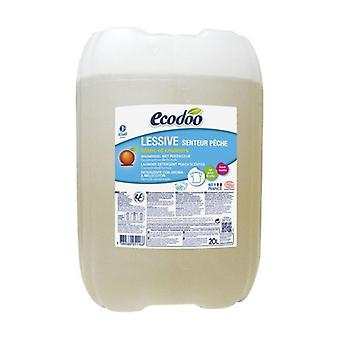 Concentrated detergent for bulk peach 20 L