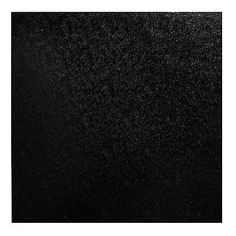 "14"" (355mm) Cake Board Square Black - pojedynczy"