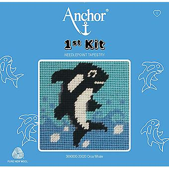 Anchor Tapestry Kit: 1: a kit: Orca Whale