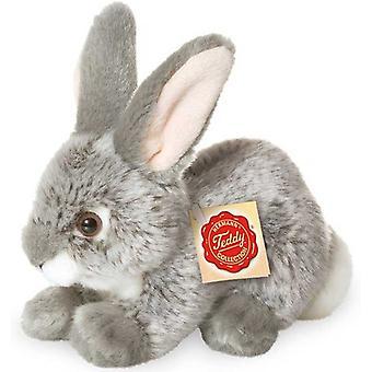 Hermann teddy rabbit grey 18 cm