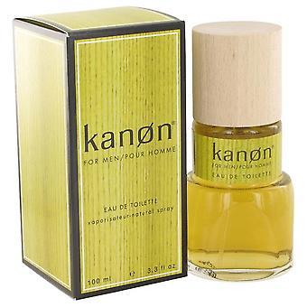 Kanon Eau De Toilette Spray (New Packaging) By Scannon 3.3 oz Eau De Toilette Spray