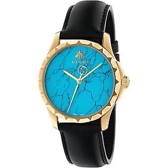 Gucci Ya126462 G-timeless Turquoise Blue Dial Men's Watch