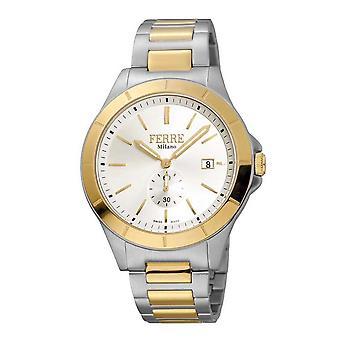 Ferre Milano Silver Dial Men's Watch FM1G080M0071