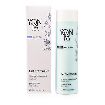 Yonka Essentials Cleansing Milk With Borneol - Face  Eyes & Lips 200ml/6.76oz