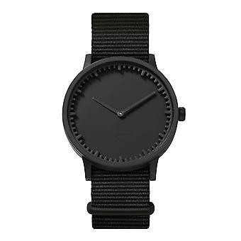 Leff Amsterdam LT75262 Black Nato T40 Tube Wristwatch