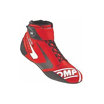Raceschoenen OMP MY2016 Rood (Maat 48)