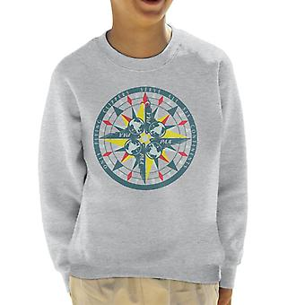 Pan Am Only Flying Clippers Kid's Sudadera