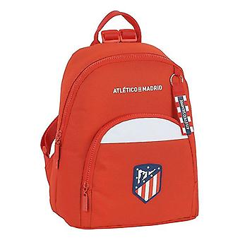 Casual Backpack Atlético Madrid White Red