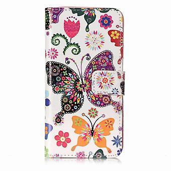 Folio leather case iPhone 7 Plus/8 Plus - Multicolored (#7)