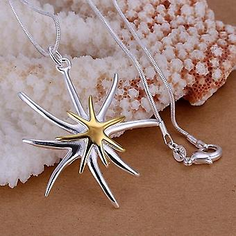Charming Exquisite Starfish Pendants, Necklace Jewelry