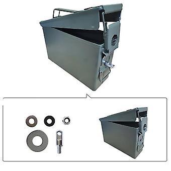 30 Cal Metal Pouzdro na munice může vojenské a armádní pevné ocelové vodotěsné držák box