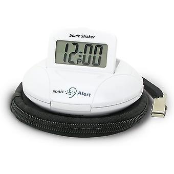 FengChun Geemarc SBP100 Tragbarer Reisewecker mit extra lautem Alarm 70 dB + Vibration + Tragetasche