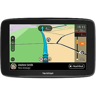 FengChun Navigationsgerät GO Basic (5 Zoll, Stauvermeidung dank Traffic, Karten-Updates Europa,