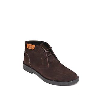Brązowe zamszowe buty męskie | wessi