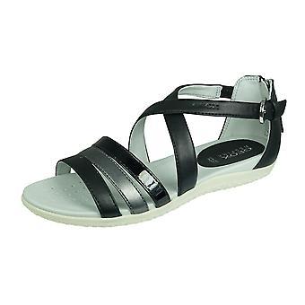 Geox D Sand Vega D Womens Sandals - Black