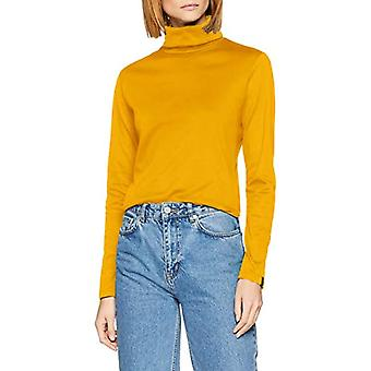 Trigema 502010 Turtleneck, Yellow (Goldlack 066), X-Small Woman