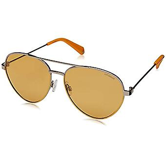Polaroid PLD 6055/s Glasses, 40G/He Yellow, 59 Woman