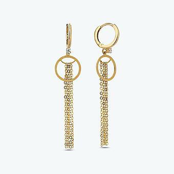 Pendant Gold Earring