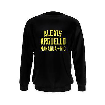 Alexis arg?ello bokslegende sweatshirt