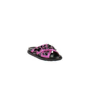 Marni | Fussbett Crystal Crisscross Sandals