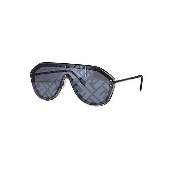 Fendi Fabulous FF M0039/G/S V81/MD Ruthenium-Black/Silver Mirror Zonnebrillen