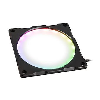 Phanteks Halos Lux 120mm Digital RGB LED Fan Frame - Aluminium Black
