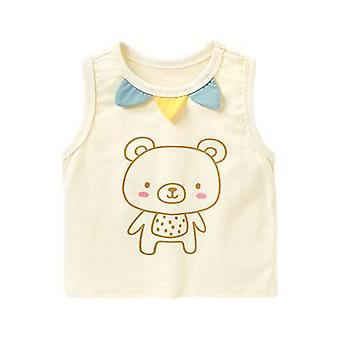 Baby Clothes Vest Sleeveless T-shirt Bottoming Shirt Top
