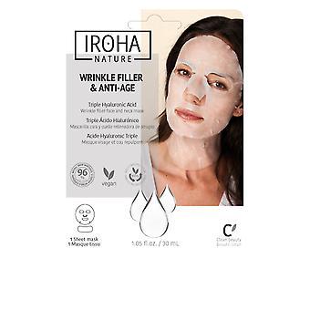 Iroha Wrinkle Filler & Anti-age Wrinkle Filler Ansikte & Nackmask 30 Unisex