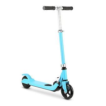 iScooter Electric Smart E Step Scooter für Kinder Off-Road - 100W - 8 km / h - 2Ah Akku - 5,5 Zoll Räder Blau