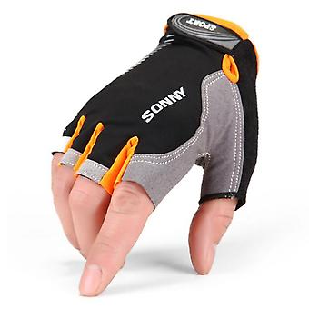 Half-finger Breathable Non-slip Outdoor Bicycle And Sports Fitness Gloves