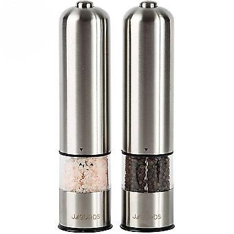 304 Stainless Steel Electric Pepper Solid Particle Grinding Bottle