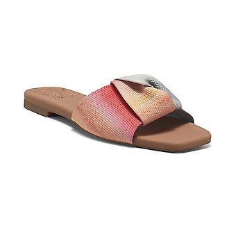 Vince Camuto Womens Skylinna Washable Knit Slide Sandals