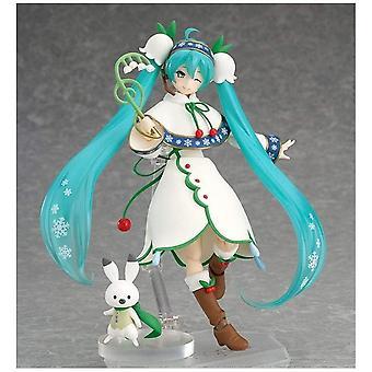 Character Vocal Series 01: Hatsune Miku figma Snow Miku Snow Bell ver. Action Figure