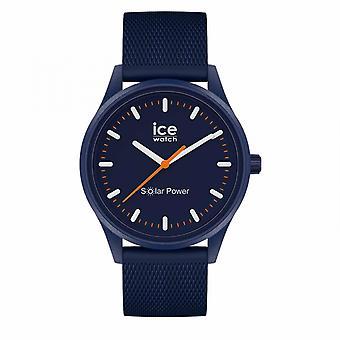 Orologio misto Ice Watch Ice Orologi energia solare - Atlantico - Medio - Cinturino in rete - 3H 018393 - Cinturino in silicone blu