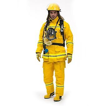Nfpa 1971 Fire Fighting Suit Statele Unite ale Americii Jacheta & Pantaloni Bib
