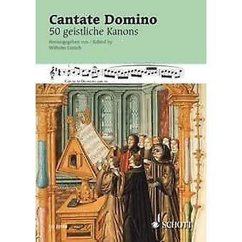 Cantate Domino voice Song Book