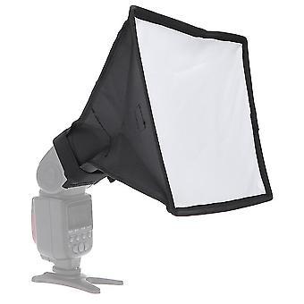Difuzor Softbox 20 X 30cm Universal Pliabil Flash Light Diffuser Softbox
