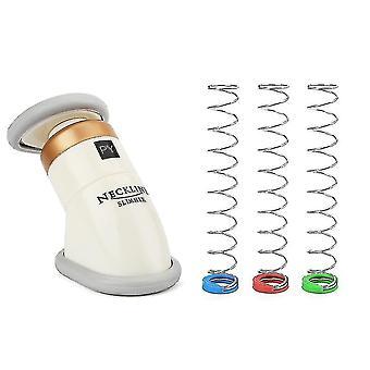 Mini Kannettava kaula ohuempi, Chin hierontalaite - Leuan vartalohierontalaite Terveydenhuolto