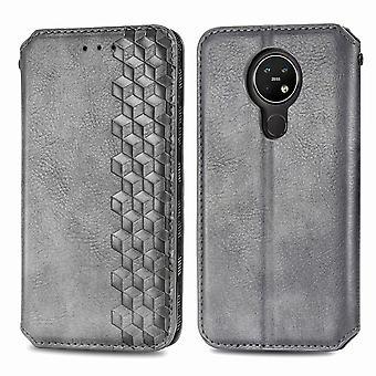 Case For Nokia 3.4 Flip Cover Wallet Flip Cover Wallet Magnetic Protective Handytasche Case Etui - Grey