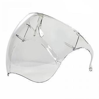 Mimigo Brýle Full Face Cover Ochrana Obličejový štít Znovu použitelné brýle Štít obličejový štít a ústa štít obličeje Kryt bezpečnostní obličejový štít