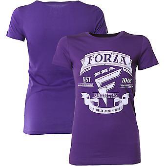 "Forza Sports Women's ""Origins"" MMA T-Shirt - Purple Rush"